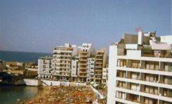 Vista de la playa-1971-. Enviada por Cristy.