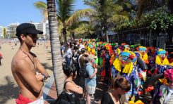 El Carnaval Pirata alegró Las Canteras