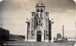La Iglesia del Pino y la fabrica de ladrillos, 1925.