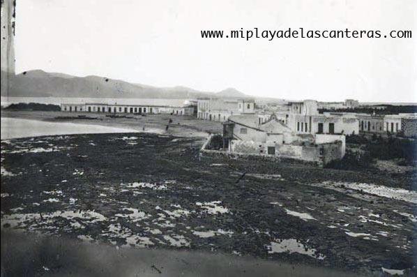 La Puntilla sobre 1900.
