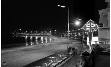 Cuando Las Canteras tuvo la mejor iluminación de España