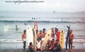 Surf en la Cicer 1982