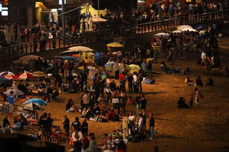 De fiesta en la playa por San Juan ¡¡
