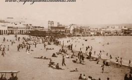 Las Canteras en 1925.