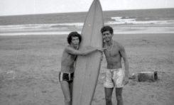 Tino el Pipa (izq.) y Alberto Sánchez, sobre 1970- colecc. Familia Zanolety