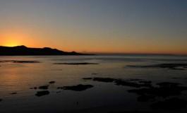 Super tarde en la Playa de Las Canteras.