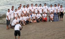 Foto de familia de los –pro- del Fotosub Playa Viva.
