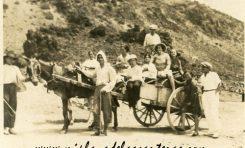Excursión al Confital. sobre 1935- Colecc. Juan Melián.
