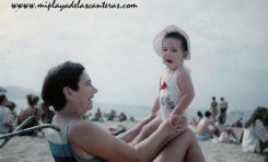 Dory Perdomo y su sobrina Beby Artiles, sobre 1990- Colecc. Familia Perdomo.