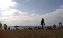 Un tarde en la arena.