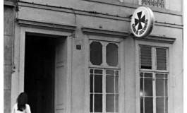 La desaparecida Casa de Socorro del Puerto, sobre 1970.