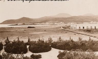 Vistas antiguas de la playa de Las Canteras. Principios del siglo XX