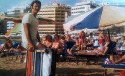 Manuel Santana, entorno a 1980- Colecc. Manuel Santana.