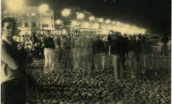 Fiesta de San Juan en Las Canteras de los años setenta