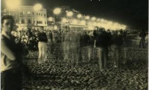 Fiesta de San Juan en Las Canteras de los años 70