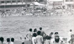 Campañas publicitarias de los años 80 en Las Canteras-Passport- Colecc: Familia Bumann.