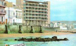 Hotel Gran Canaria y Muro Marrero, sobre 1965. Colecc. Isidoro Hernández.