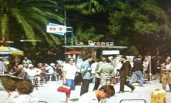 Ambiente en el Parque Santa Catalina. Entre 1975-80.