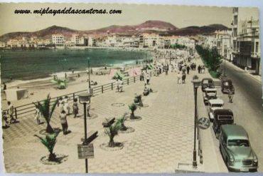 Calle Sagasta sobre 1960.