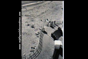 Detalle del viejo Paseo de Las Canteras.