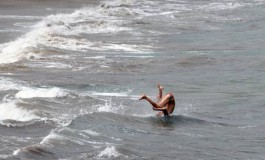 Campeón olímpico de salto de ola.
