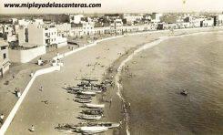 La playa de Las Canteras en los años 30 del siglo pasado