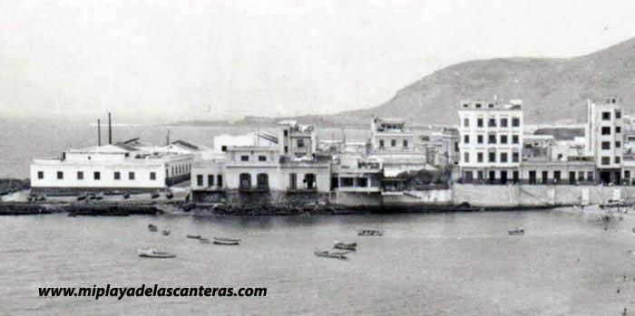 Las factorías de pescado de Las Canteras