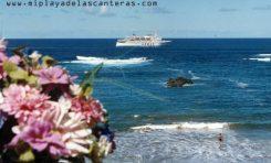 El Armas pasando muy cerca de La Barra, sobre 1995. Foto: Wolf Hewer.