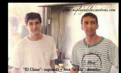 """""""EL Chino"""" y José Jiménez """"El Alacrán""""."""