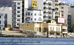 Las últimas casas que daban al mar en La Puntilla