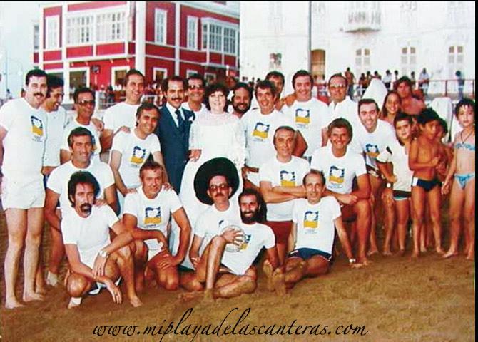 «Canario cuida tu playa» sobre 1978