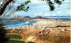 Vista de Las Canteras desde Las Torres. Sobre 1975.