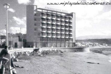 Hotel Gran Canaria en la Playa Chica. Sobre 1970