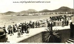 El desaparecido balneario. Sobre 1960.