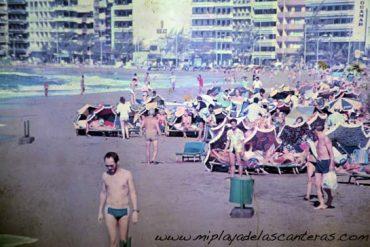 Las Canteras 1983.