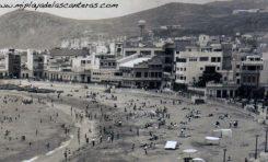 La playa de Las Canteras en 1950.