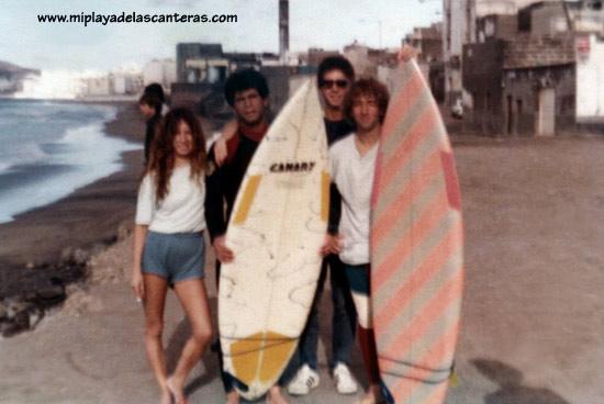 Entre otr@s ; Alfredo El Petrolero y Fernando Pomar en La Cicer de 1985.
