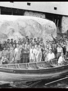 Documento Visual: Rodaje de Moby Dick en 1955 en la Bahía de El Confital