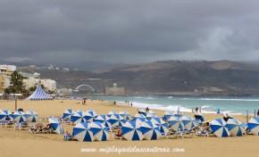 Ciudad de Mar estudia para la playa de Las Canteras la instalación de un sistema inteligente para el distanciamiento físico