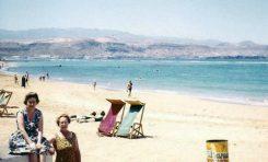 Playa de Las Canteras en 1962.