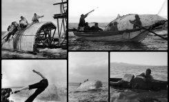 Rodaje de Moby Dick en la Bahía de El Confital. 1954. Fotos de Erich Lessing