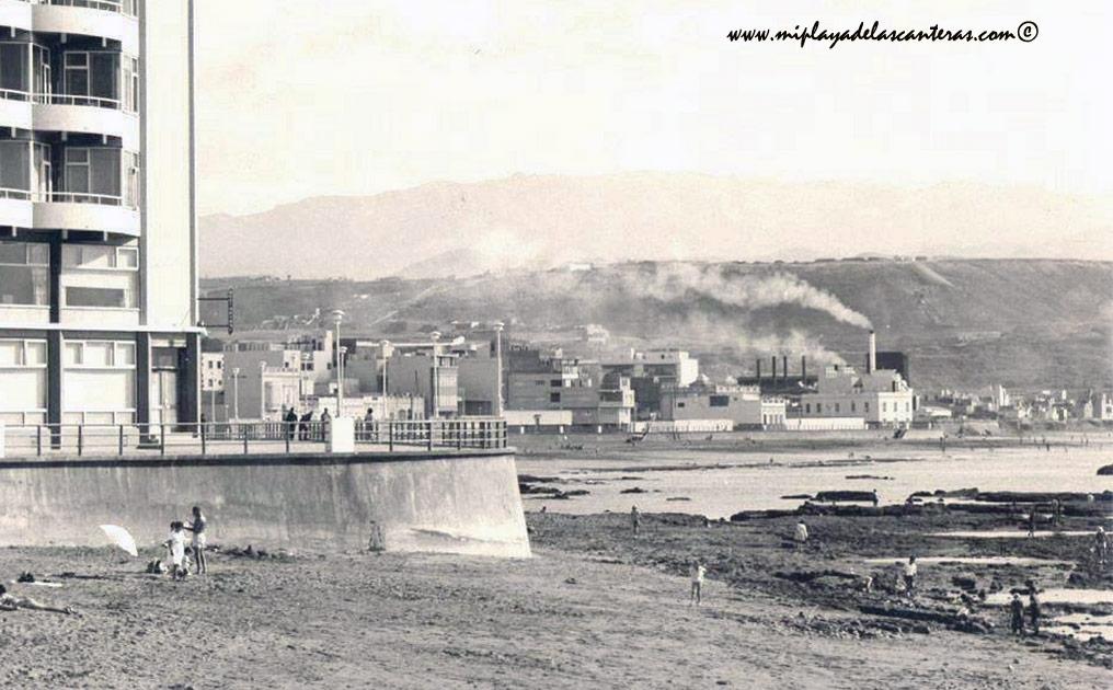 Años sesenta: cuando el humo de la central eléctrica indicaba la dirección del viento