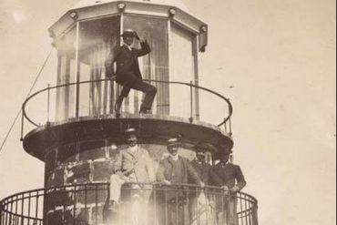Faro de La Isleta. 1900.