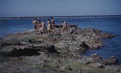 El Peñón en el verano de 1956. Colecc- Juan Melián.