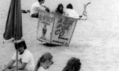 Ambiente en Las Canteras 1974.