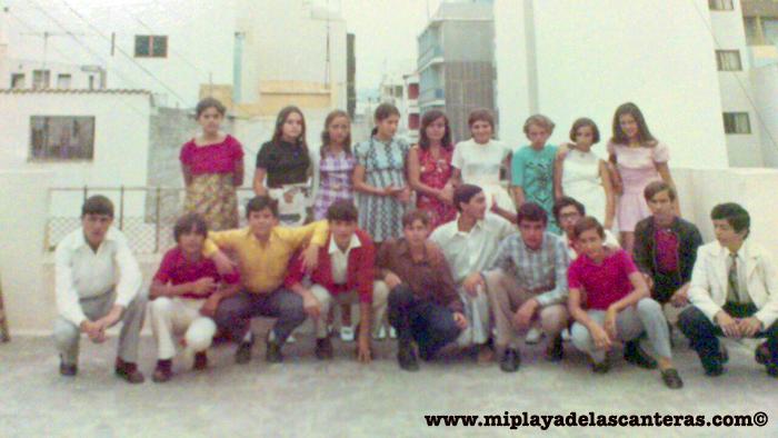 La pandilla de la Playa Chica sobre 1969