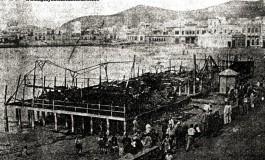 El incendio de la caseta Galan por José Ferrera Jiménez