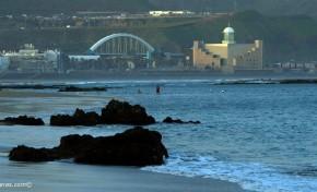 Esta mañana de viernes fue la marea más baja del año.