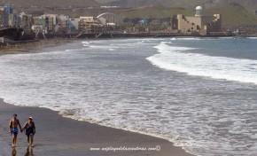 La playa de Guanarteme