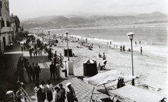 Paseo de Las Canteras, finales de los 60.